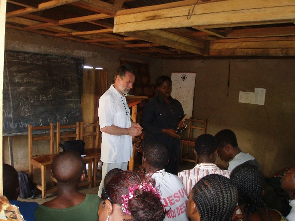 Teaching at Mt Zion