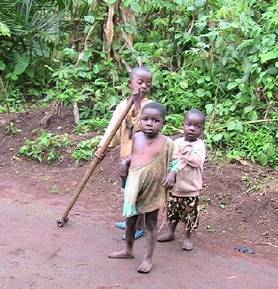 Village Children in Baligam